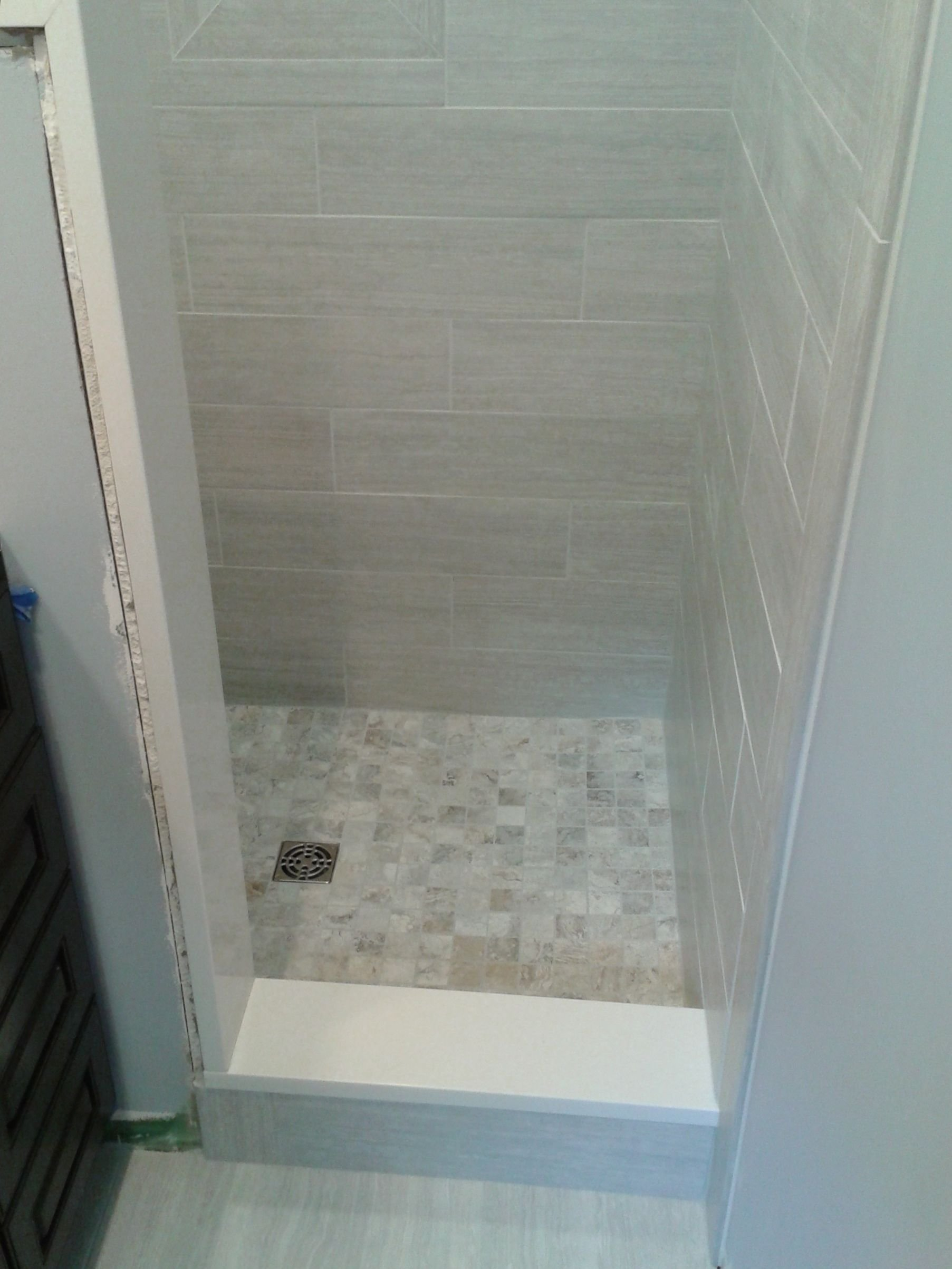 10 Great Small Bathroom Shower Tile Ideas small bathroom stand up shower tile tile work pinterest 2020