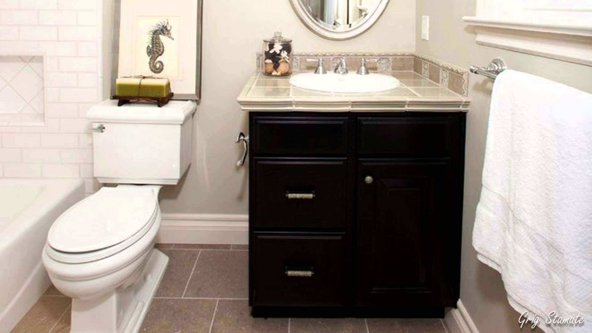 10 Attractive Bathroom Cabinet Ideas For Small Bathroom small bathroom vanity cabinet ideas youtube