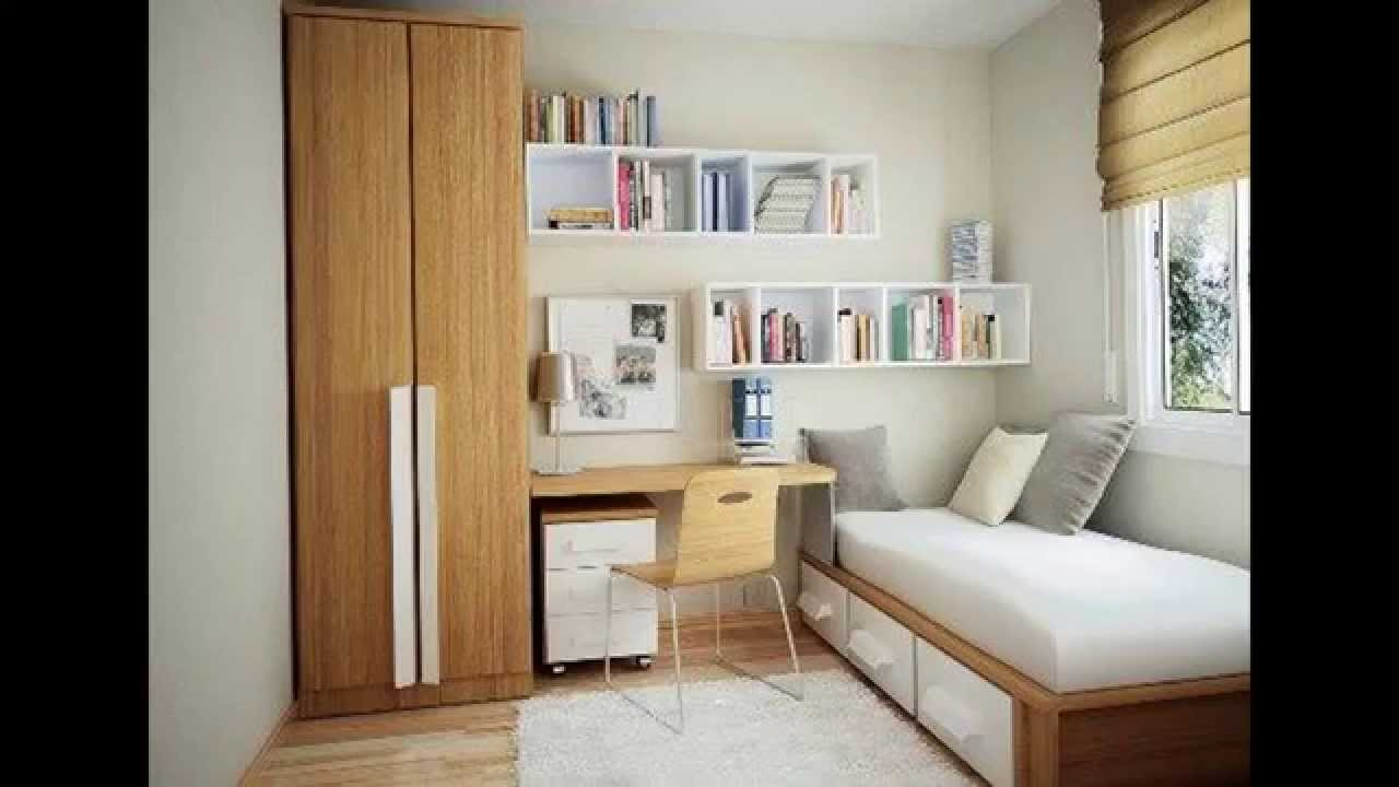 10 Spectacular Creative Ideas For Small Bedrooms small bedroom arrangement ideas youtube