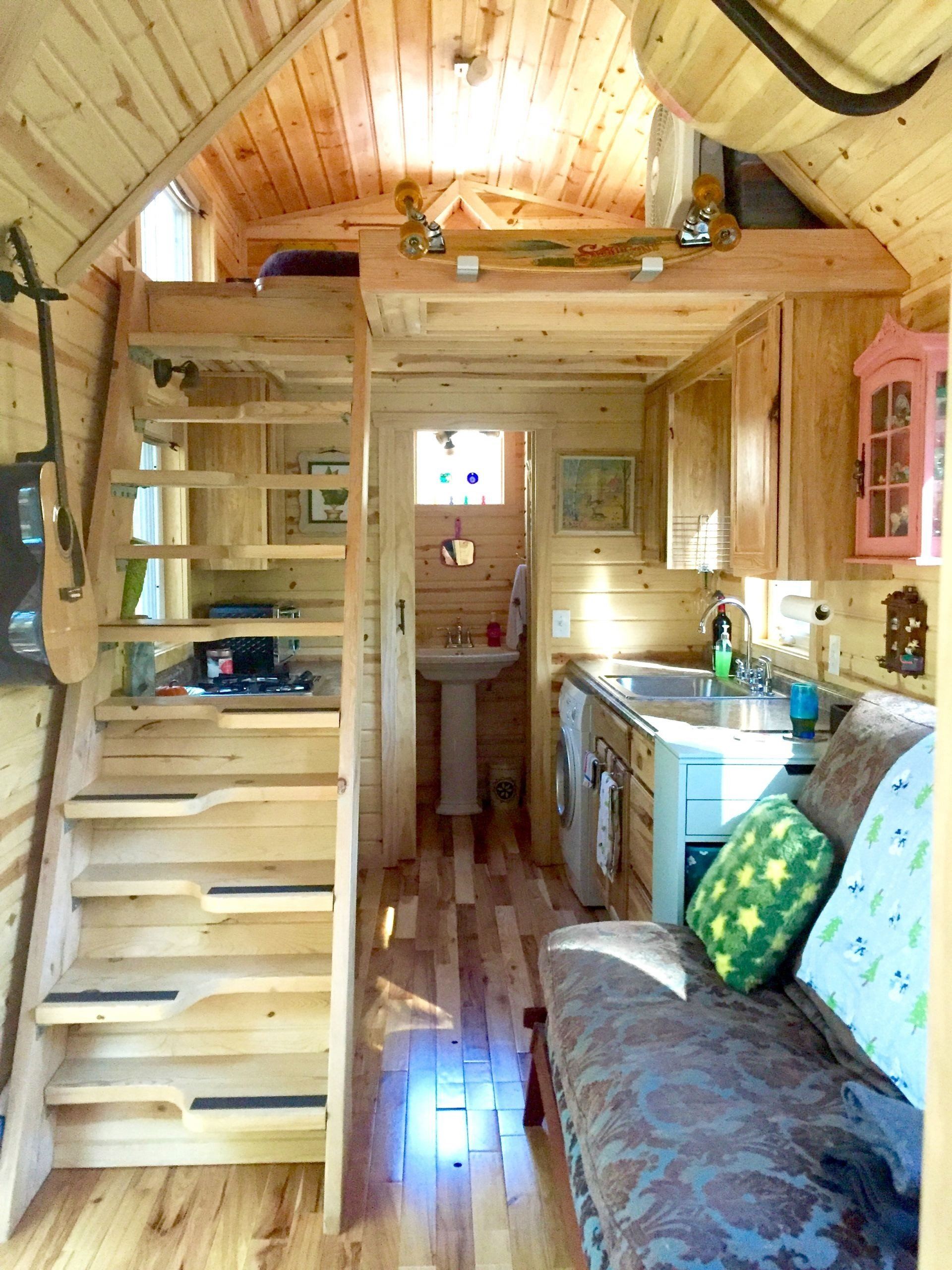10 Beautiful Small Cabin Interior Design Ideas small cabin interior design ideas beautiful nicki s colorful 2020