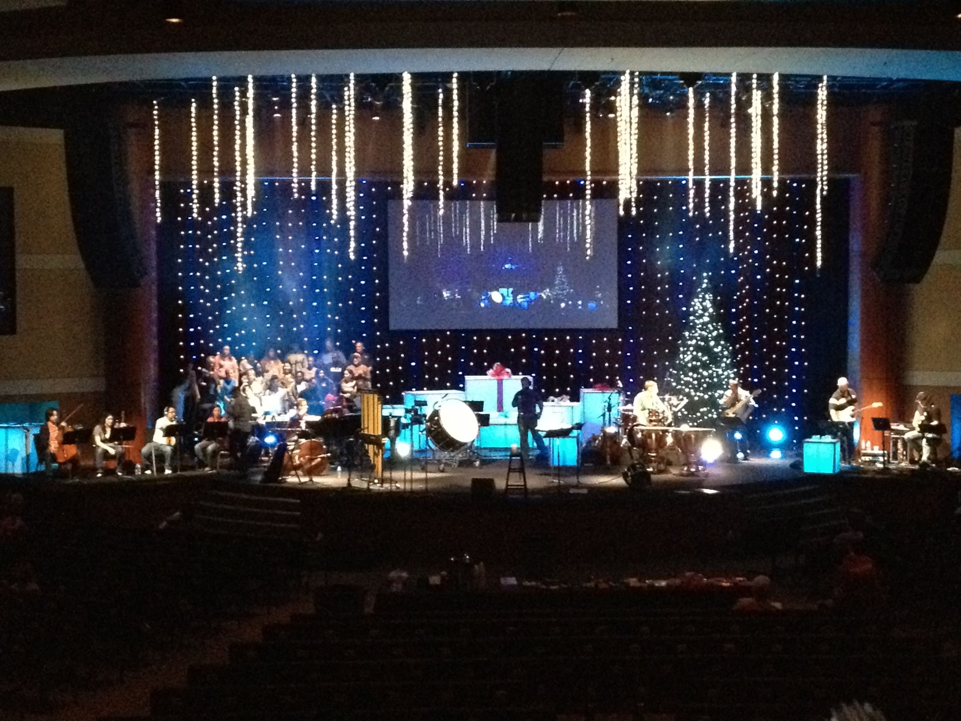 10 Unique Small Church Stage Design Ideas small church stage design falling stars church set and alter 2020