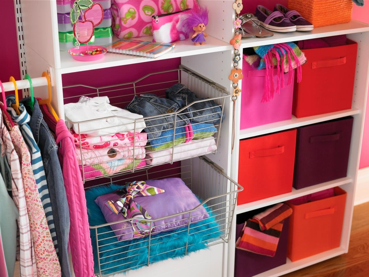 small closet organization ideas: pictures, options & tips | hgtv