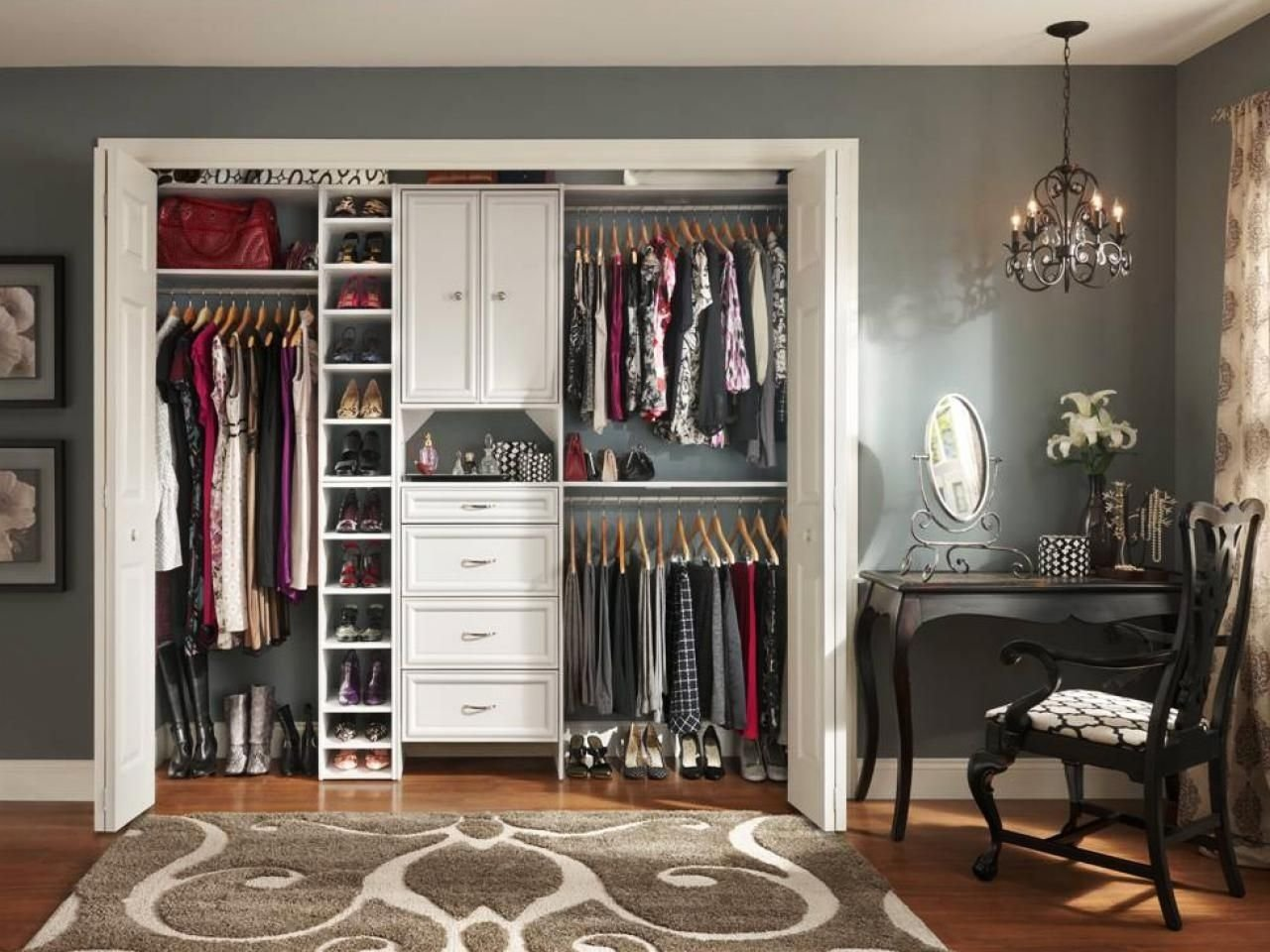 10 Attractive Closet Organization Ideas For Small Closets small closet organization ideas pictures options tips small 2021