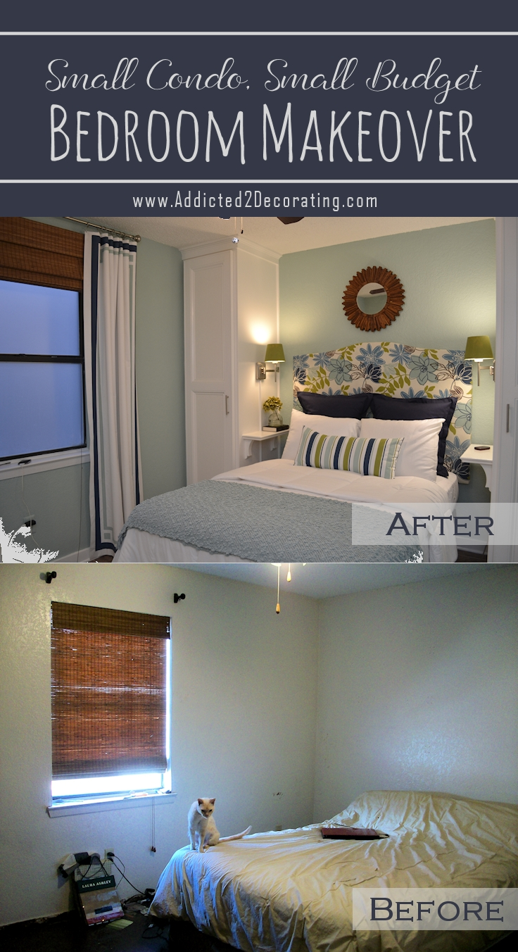 small condo, small budget bedroom makeover – before & after | condo