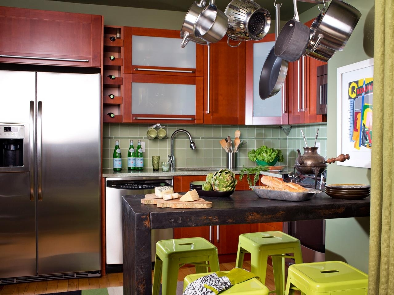 small eat-in kitchen ideas: pictures & tips from hgtv | hgtv
