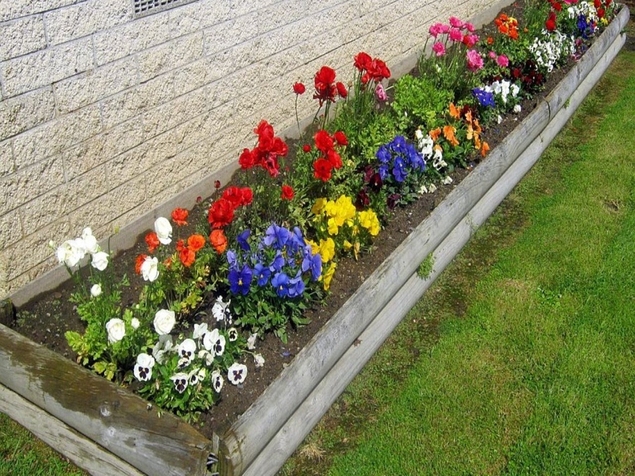small flower bed ideas — zachary horne homes : to start flower bed ideas