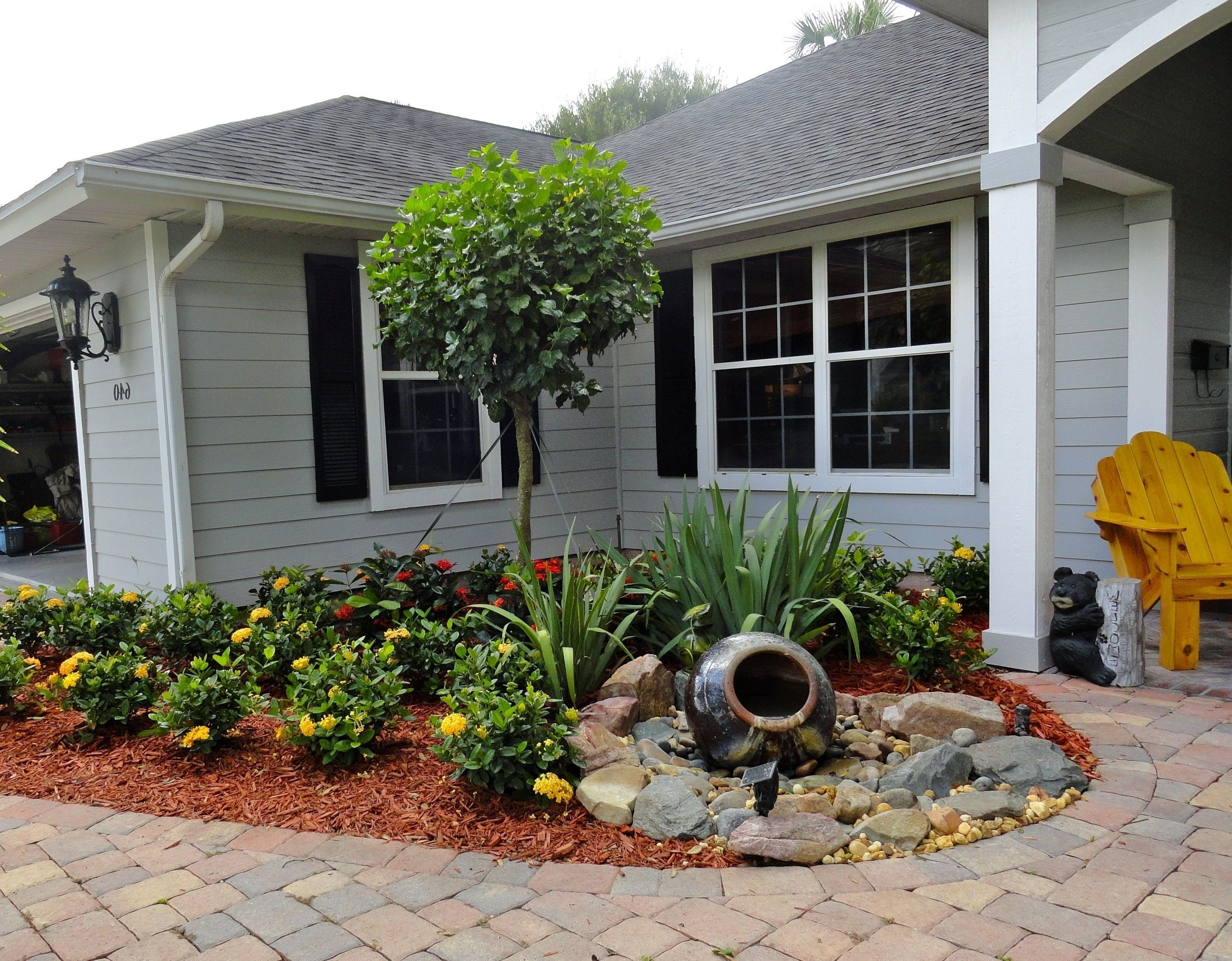 10 Spectacular Front Yard Landscaping Ideas On A Budget small front garden ideas on a budget best of serene low bud 1 2020