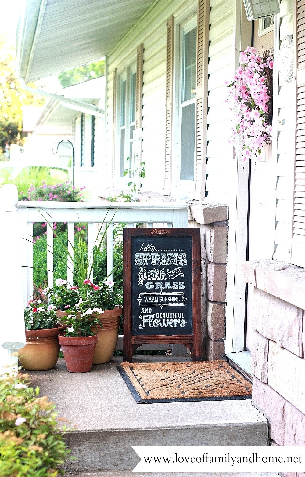 10 Ideal Front Porch Decorating Ideas For Spring small front porch decorating ideas for spring fine birdcages fall 2021