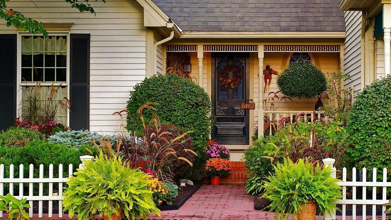 small front yard landscaping ideas - youtube