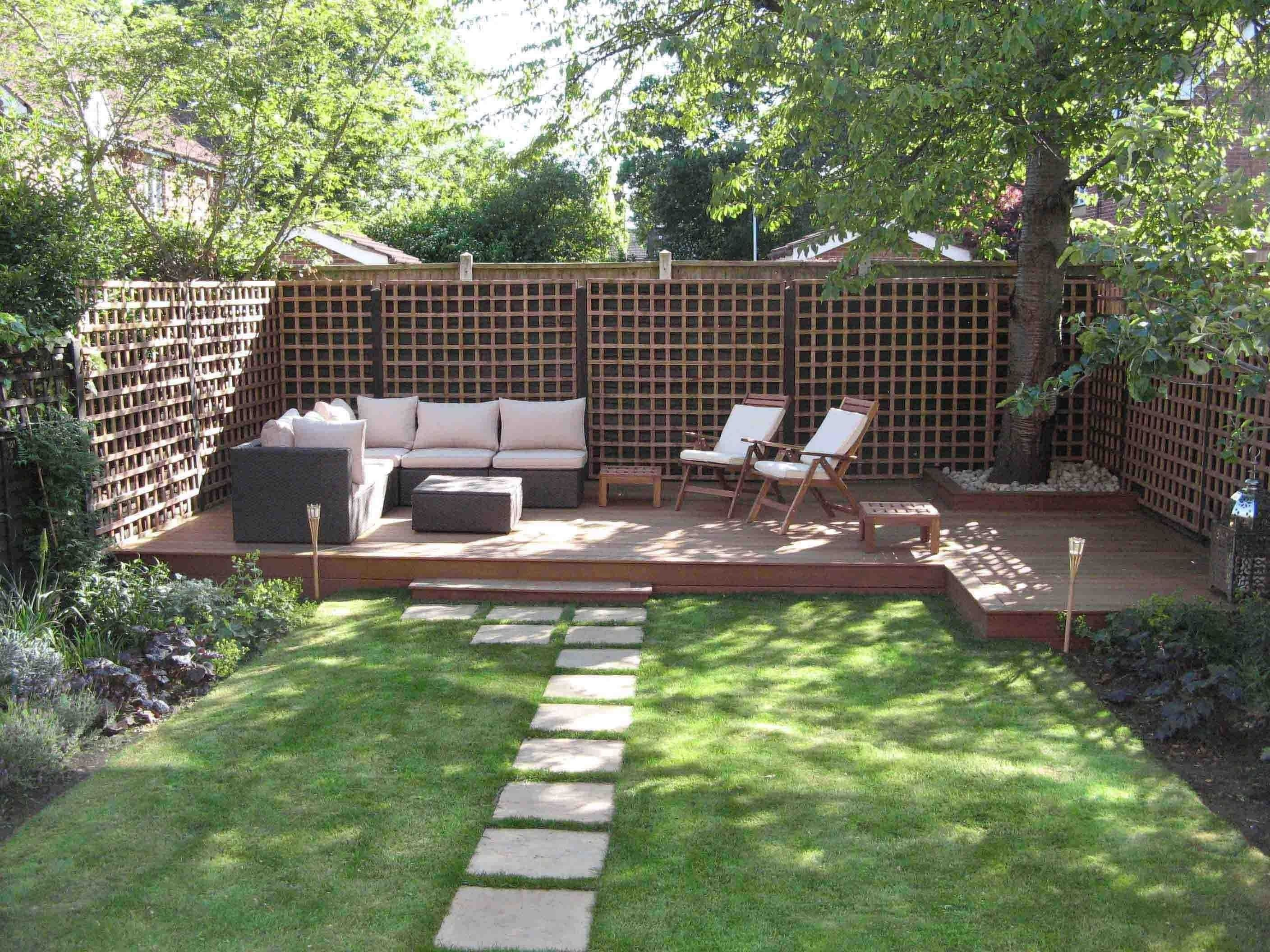 small garden ideas on a budget - luxury double small garden design