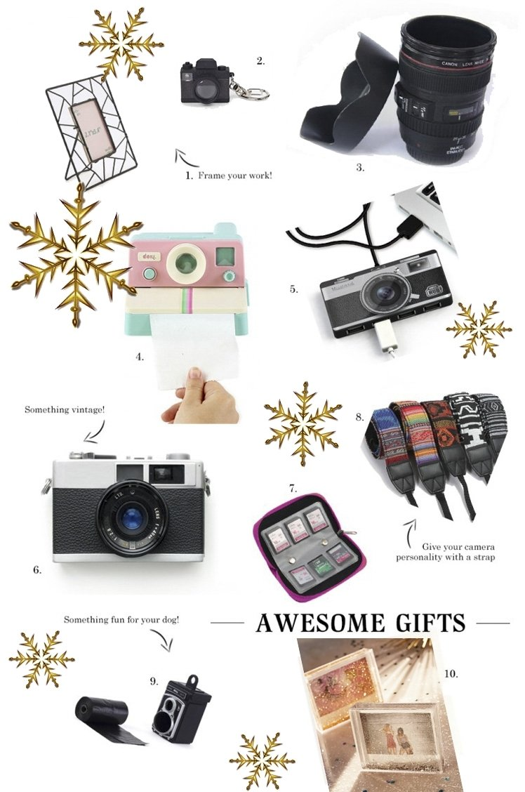 10 Fashionable Gift Ideas For Photography Lovers small gifts for photography lovers e280a2 the fashion camera 2020