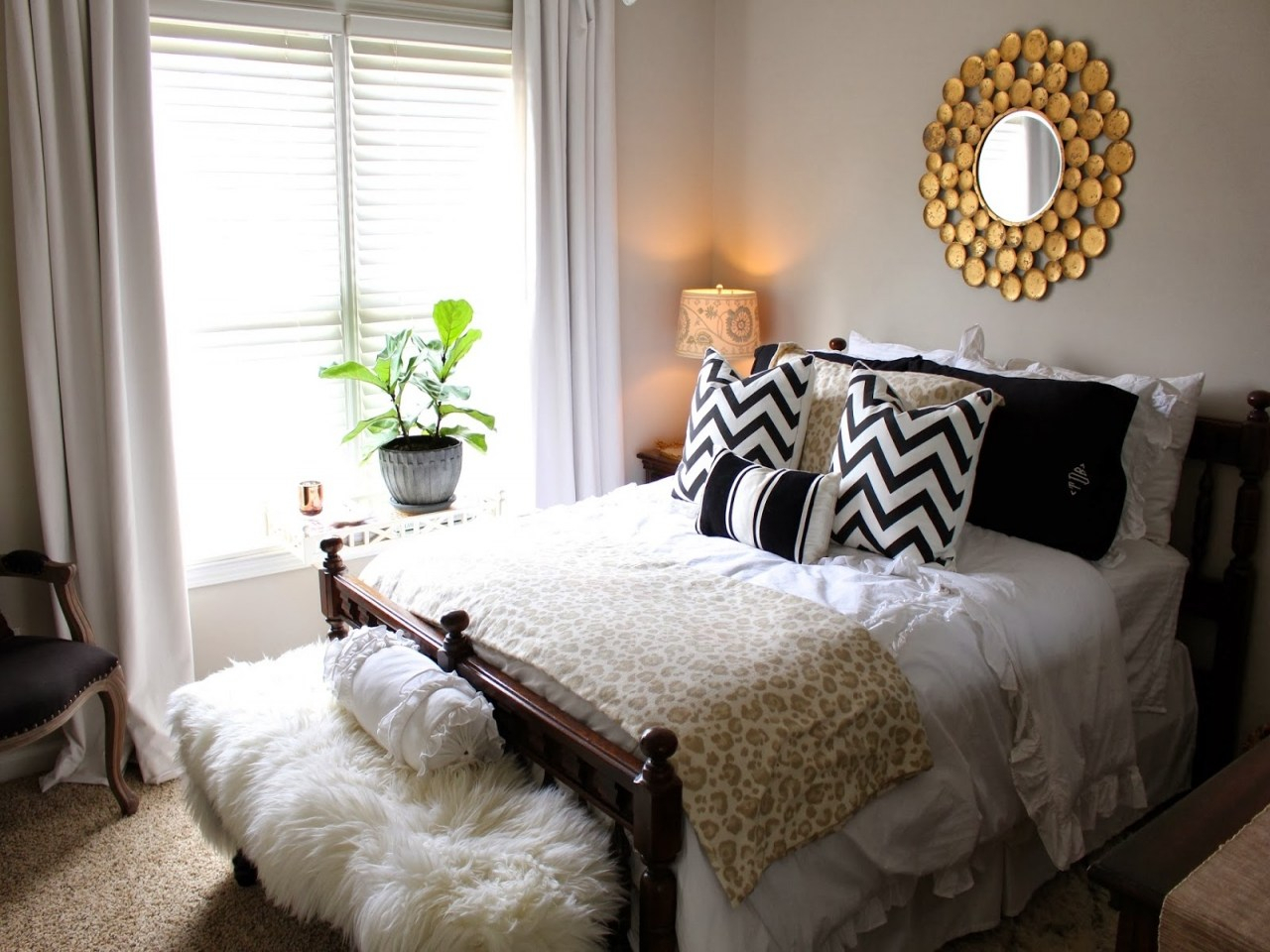 small guest bedroom decorating ideas | guest room decor ideas