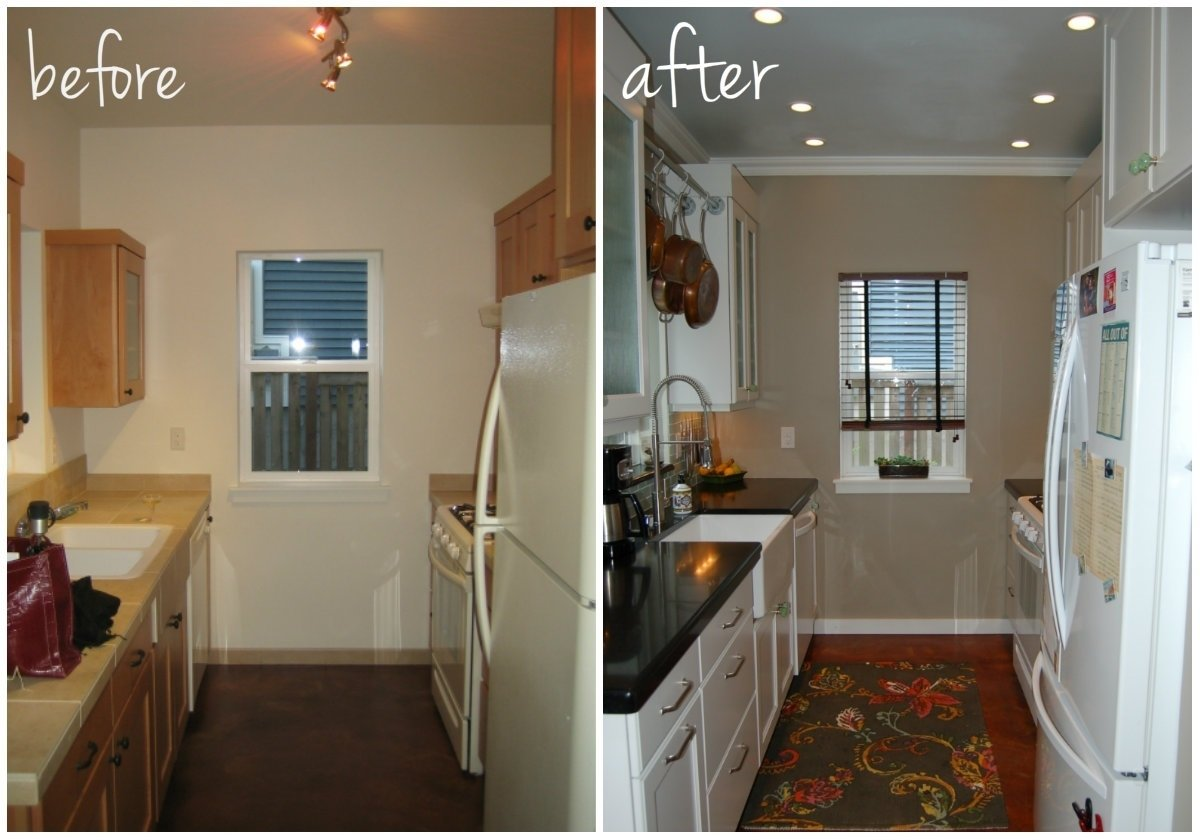 10 Fabulous Kitchen Remodel Ideas Before And After small kitchen diy ideas before after remodel pictures of tiny 3