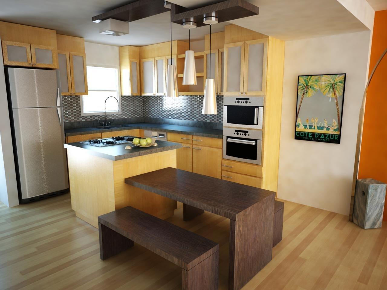 10 Fashionable Kitchen Layout Ideas With Island %name 2021