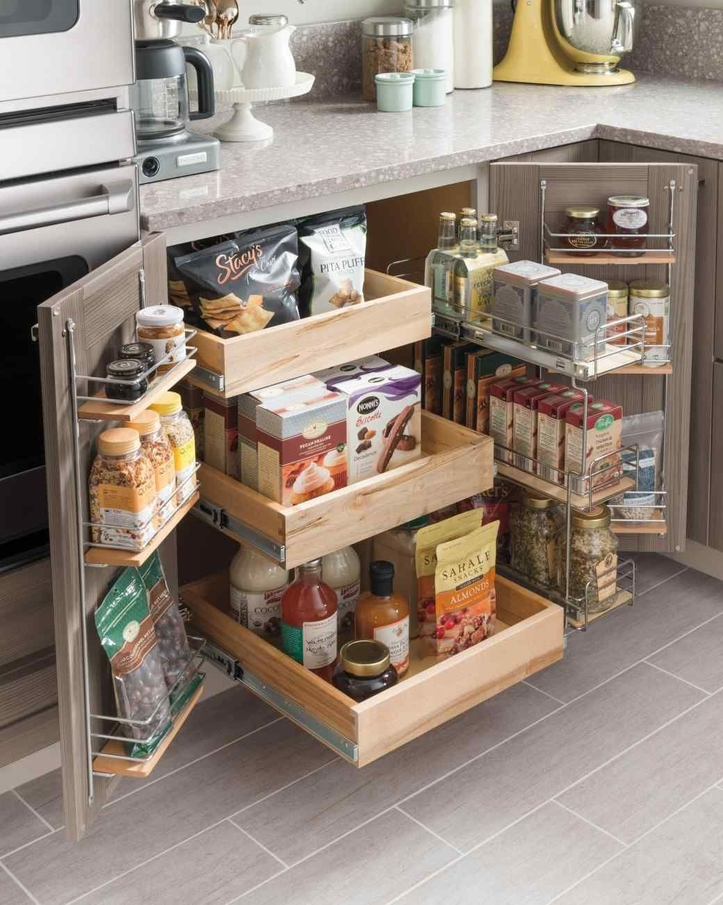 small kitchen storage ideas for a more efficient space | storage