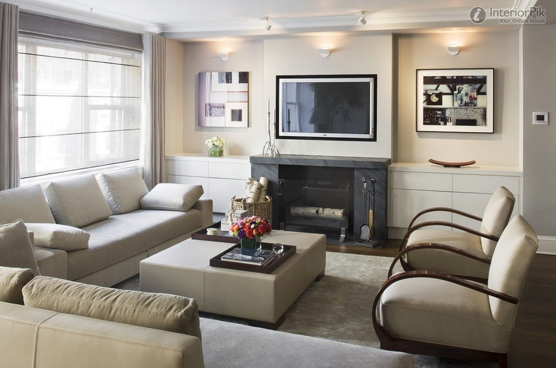 10 Elegant Living Room Ideas With Fireplace small living room ideas with fireplace and tv small living room 1 2021