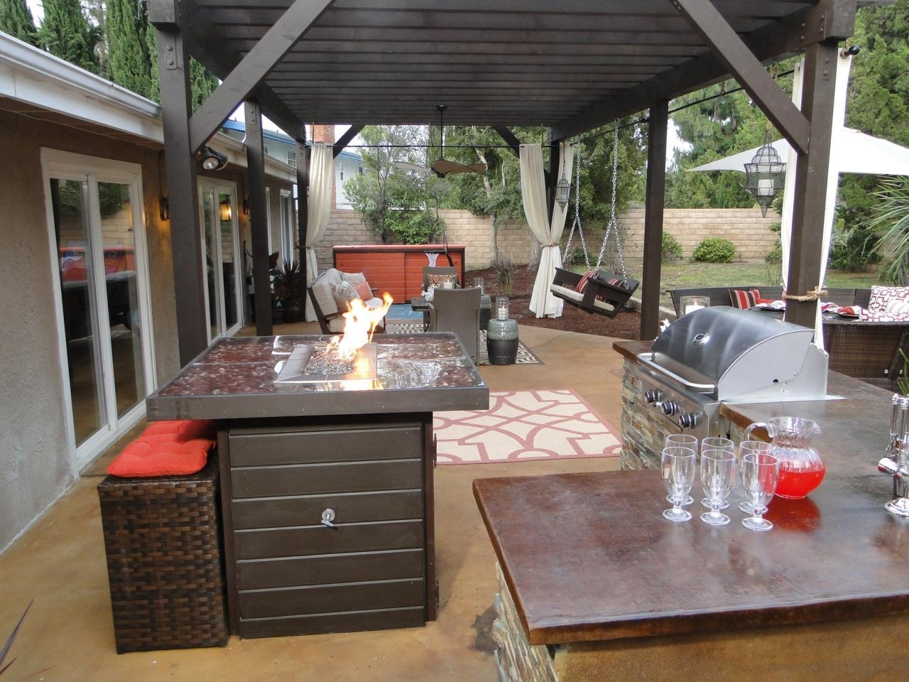 small outdoor kitchen ideas: pictures & tips from hgtv | hgtv