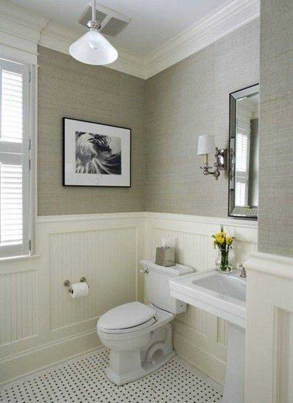 10 Ideal Small Powder Room Decorating Ideas %name 2020