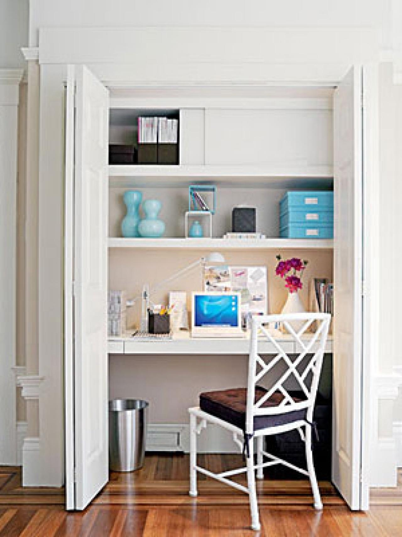 small space home office ideas | hgtv's decorating & design blog | hgtv