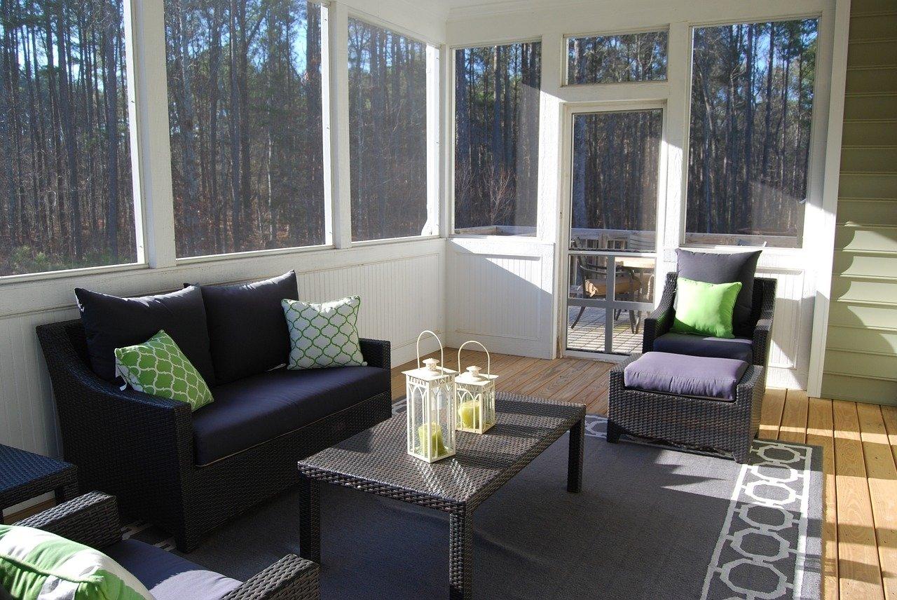 10 Ideal Sunroom Ideas On A Budget small sunroom ideas cheap ways to decorate sunroom homeaholic 2020