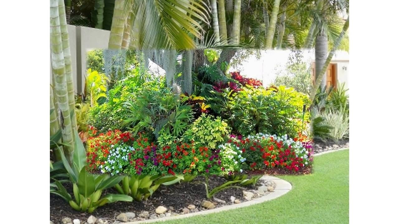 10 Attractive Tropical Landscaping Ideas For Front Yard small tropical garden ideas youtube 2020