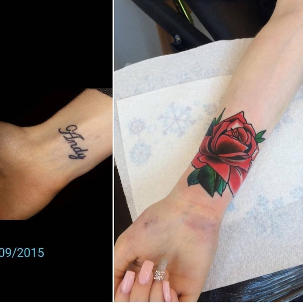 10 Trendy Tattoo Cover Up Ideas For Wrist small wrist cover up tattoos tattoo ideas 2021