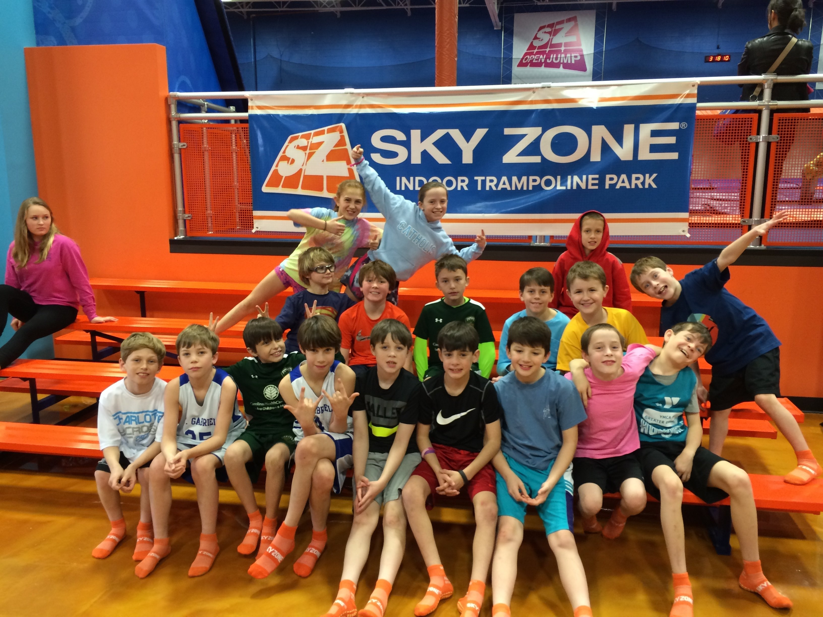 10 Famous Birthday Party Ideas Charlotte Nc Smarty Idea Sky Zone A Steal