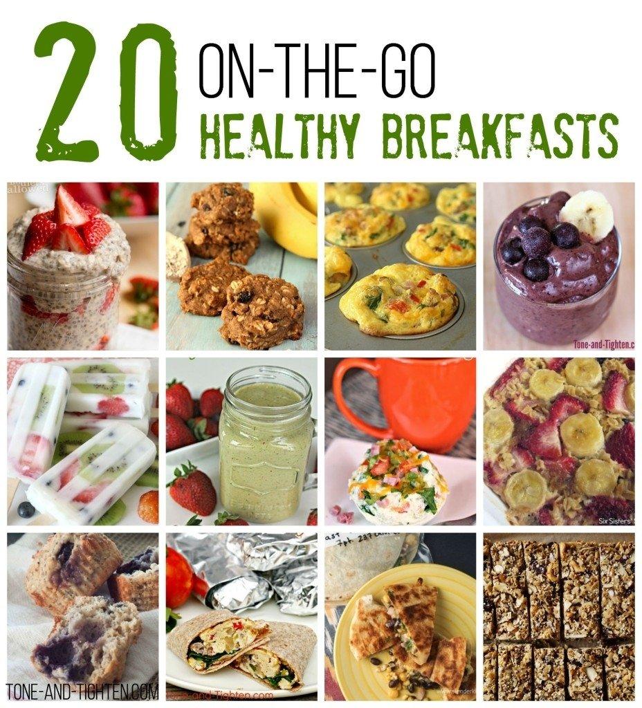 10 Stunning On The Go Breakfast Ideas smoothies tone and tighten 3