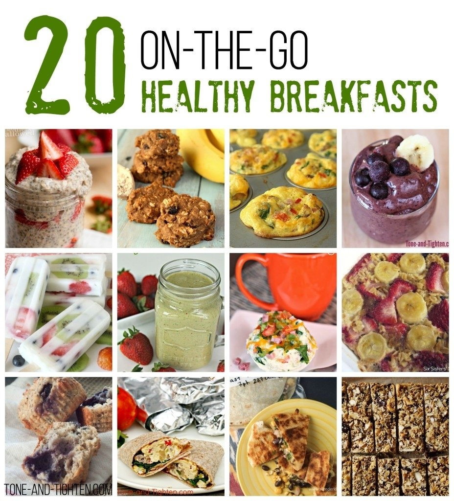 10 Spectacular Healthy On The Go Breakfast Ideas smoothies tone and tighten 4 2021
