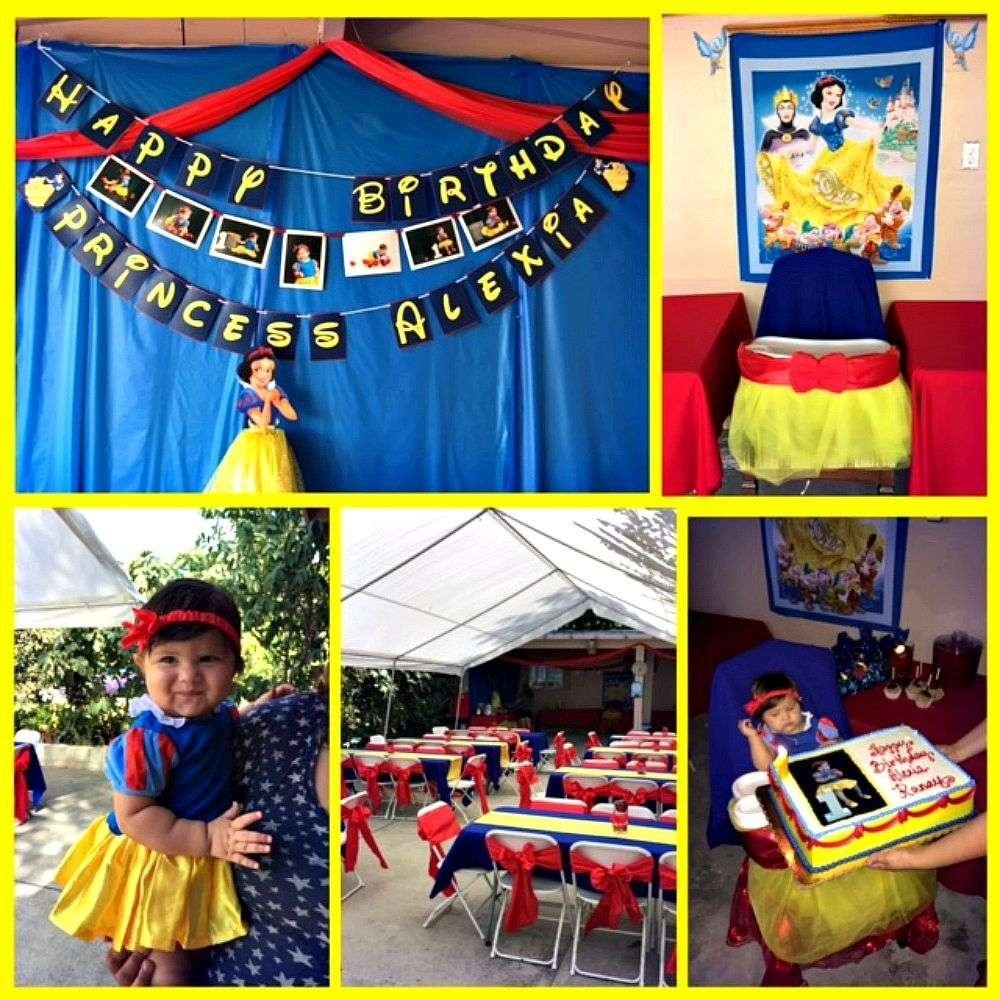 10 Fashionable Snow White Birthday Party Ideas snow white birthday party ideas photo 6 of 6 catch my party