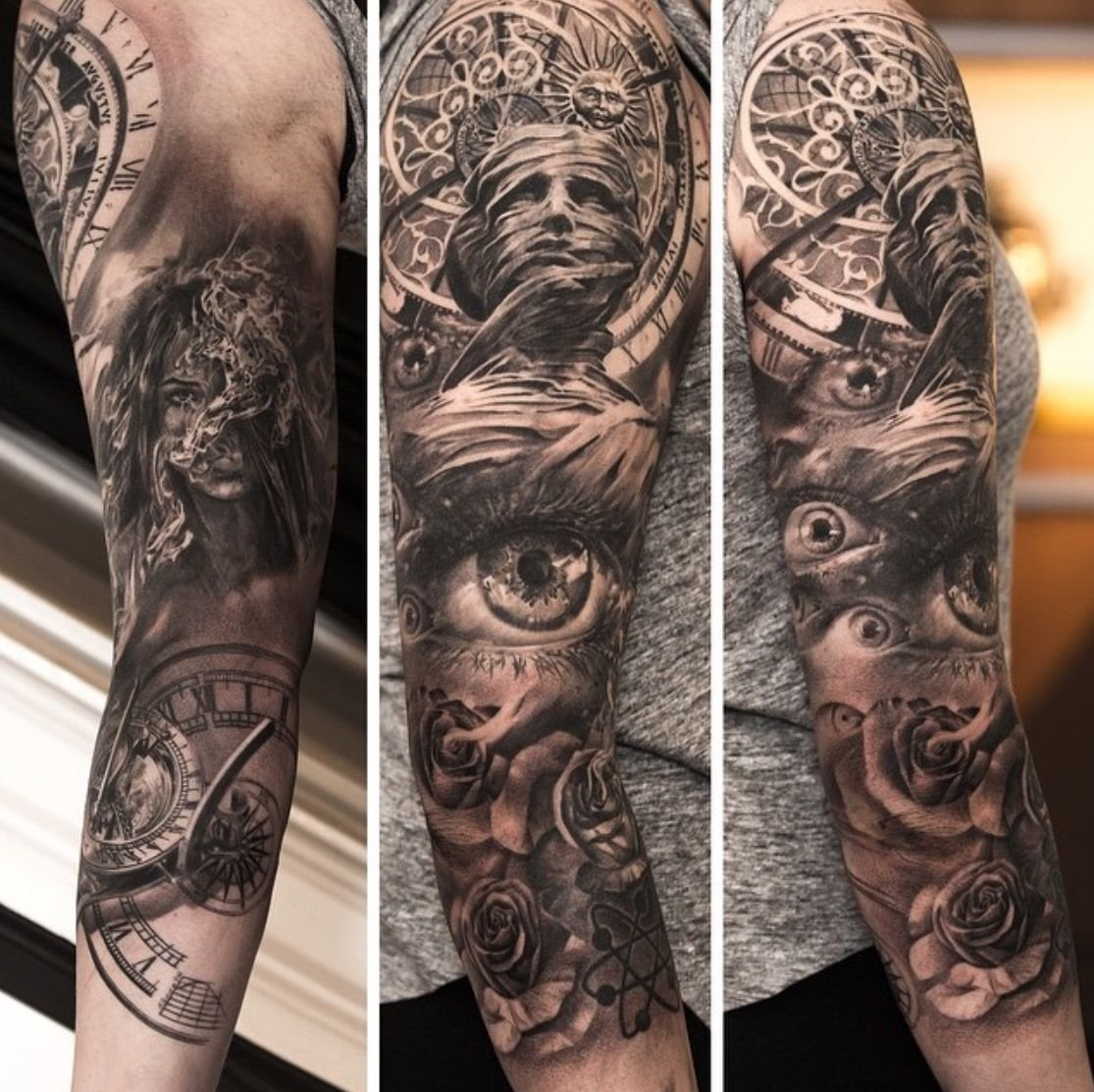10 Gorgeous Sick Tattoo Ideas For Guys so sick sleeve tattoos pinterest sick tattoo and tatoo