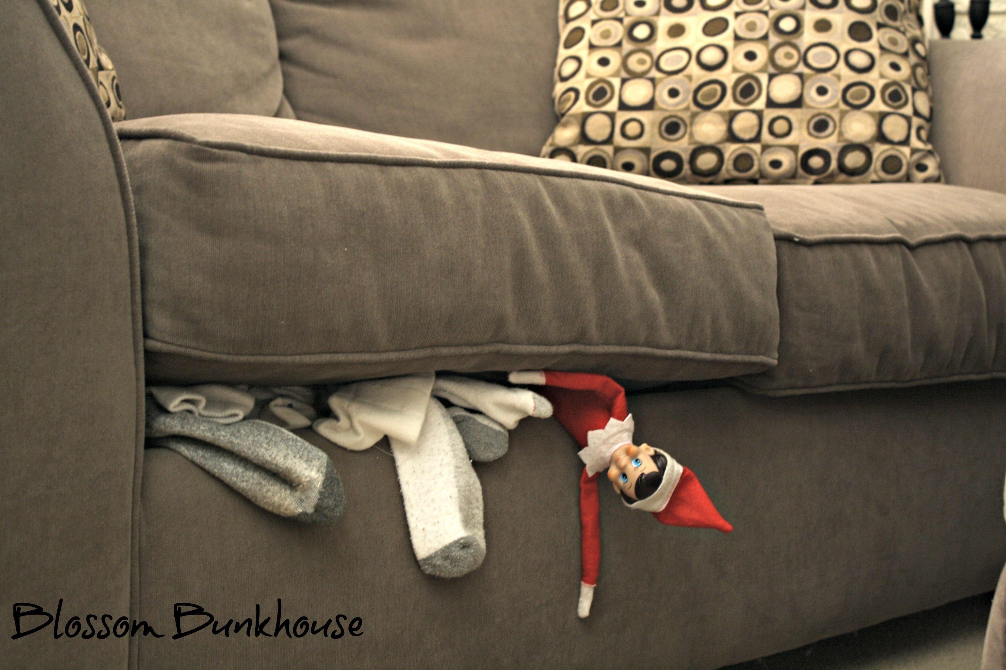 10 Stylish 101 Elf On The Shelf Ideas so thats where all the socks go naughty little elf p blossom 2021