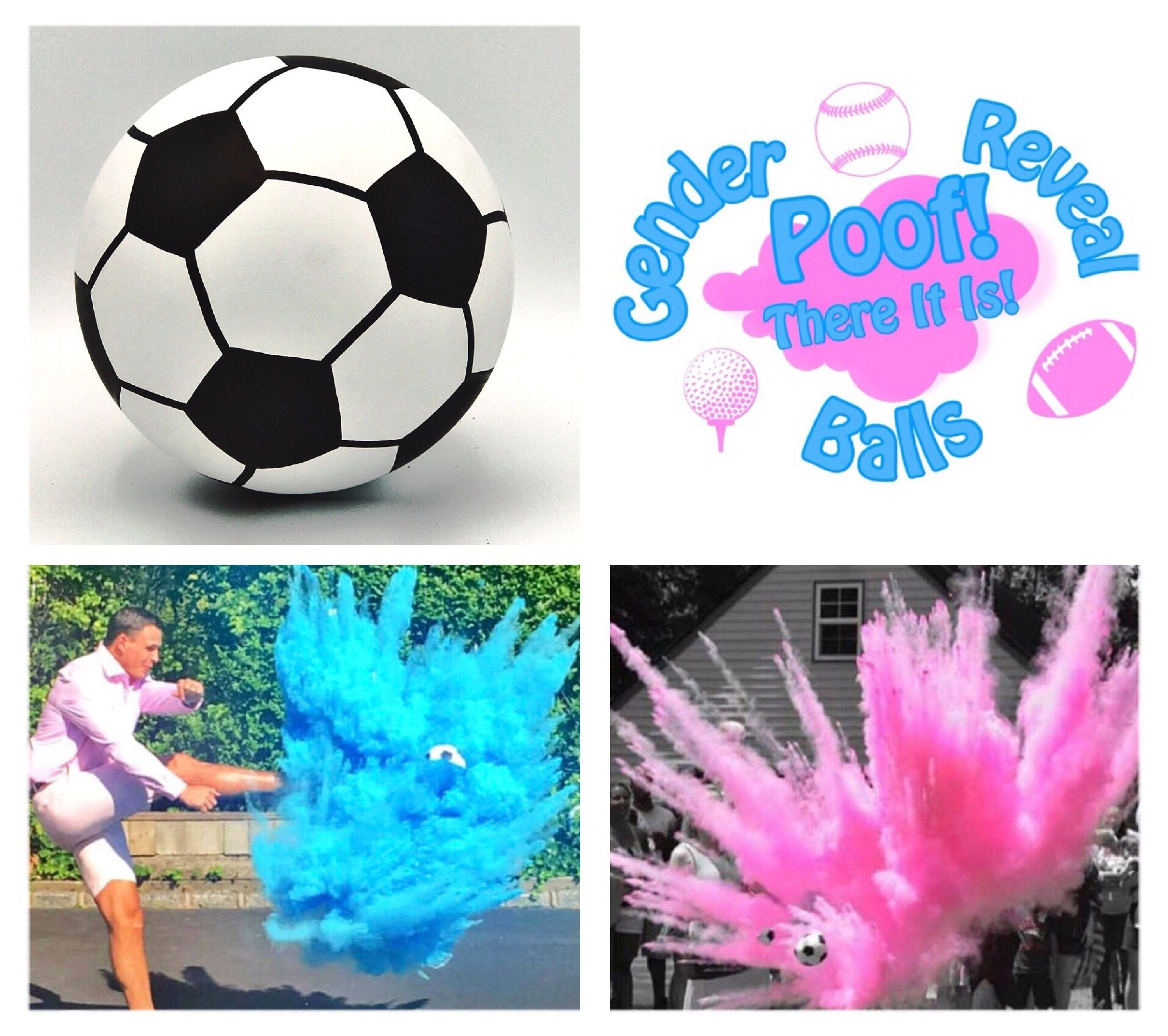 10 Best Ideas To Reveal Baby Gender soccer ball gender reveal soccer gender reveal poofthereitis