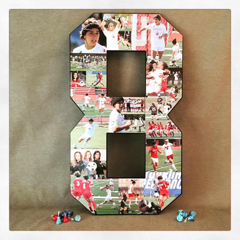 10 Spectacular Senior Gift Ideas For Sports soccer collage sports collage great senior night gift idea photo 2020