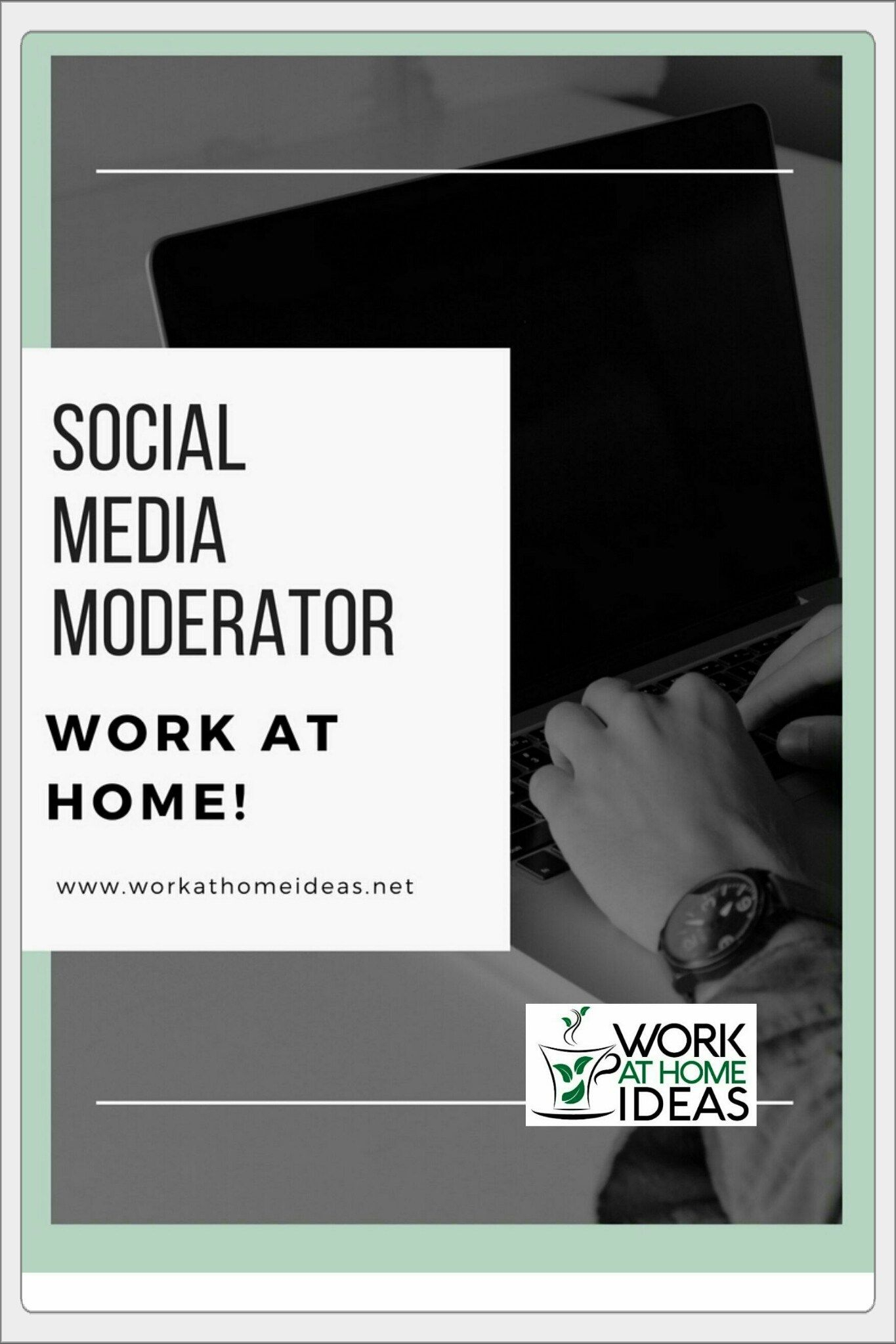 social media moderator - work at home | bloggers best personal