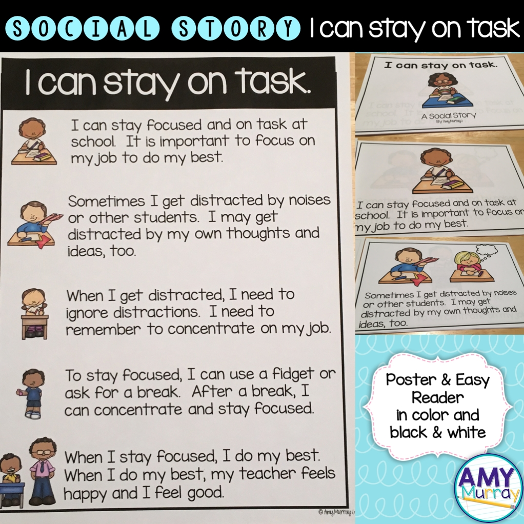 10 Trendy Breaking A Social Norm Ideas social story i can stay on task special education school and