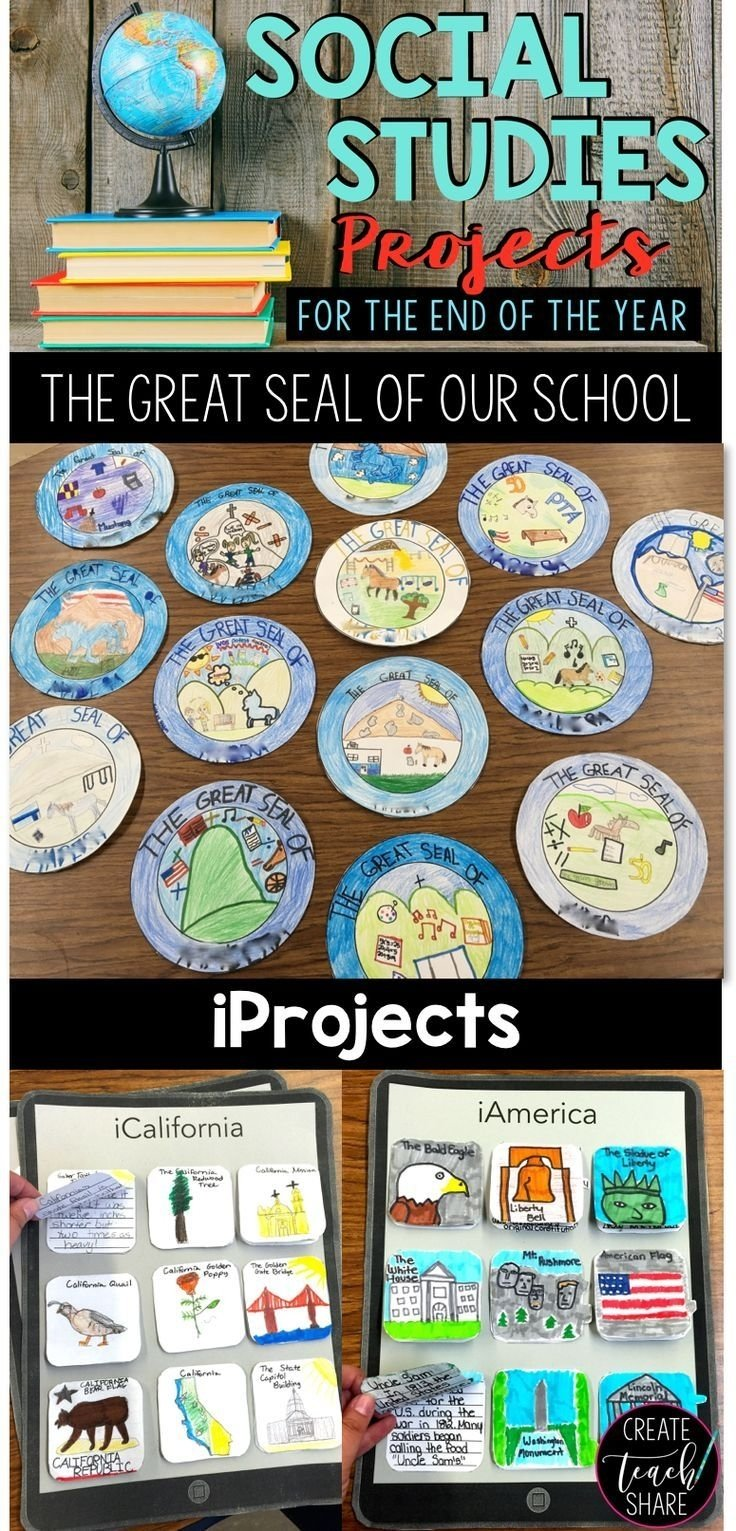 social studies projects for the end of the year | social studies