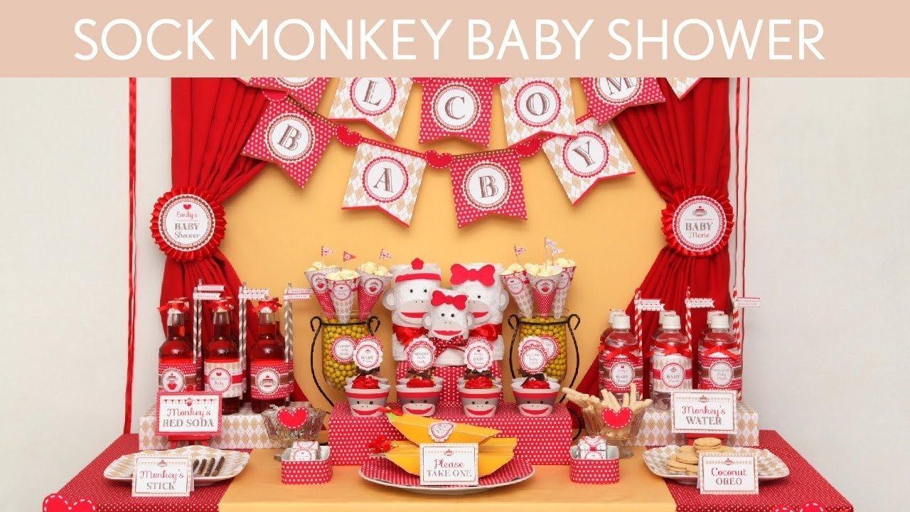 10 Stylish Sock Monkey Baby Shower Ideas sock monkey baby shower ideas sock monkey s2 youtube 1 2020