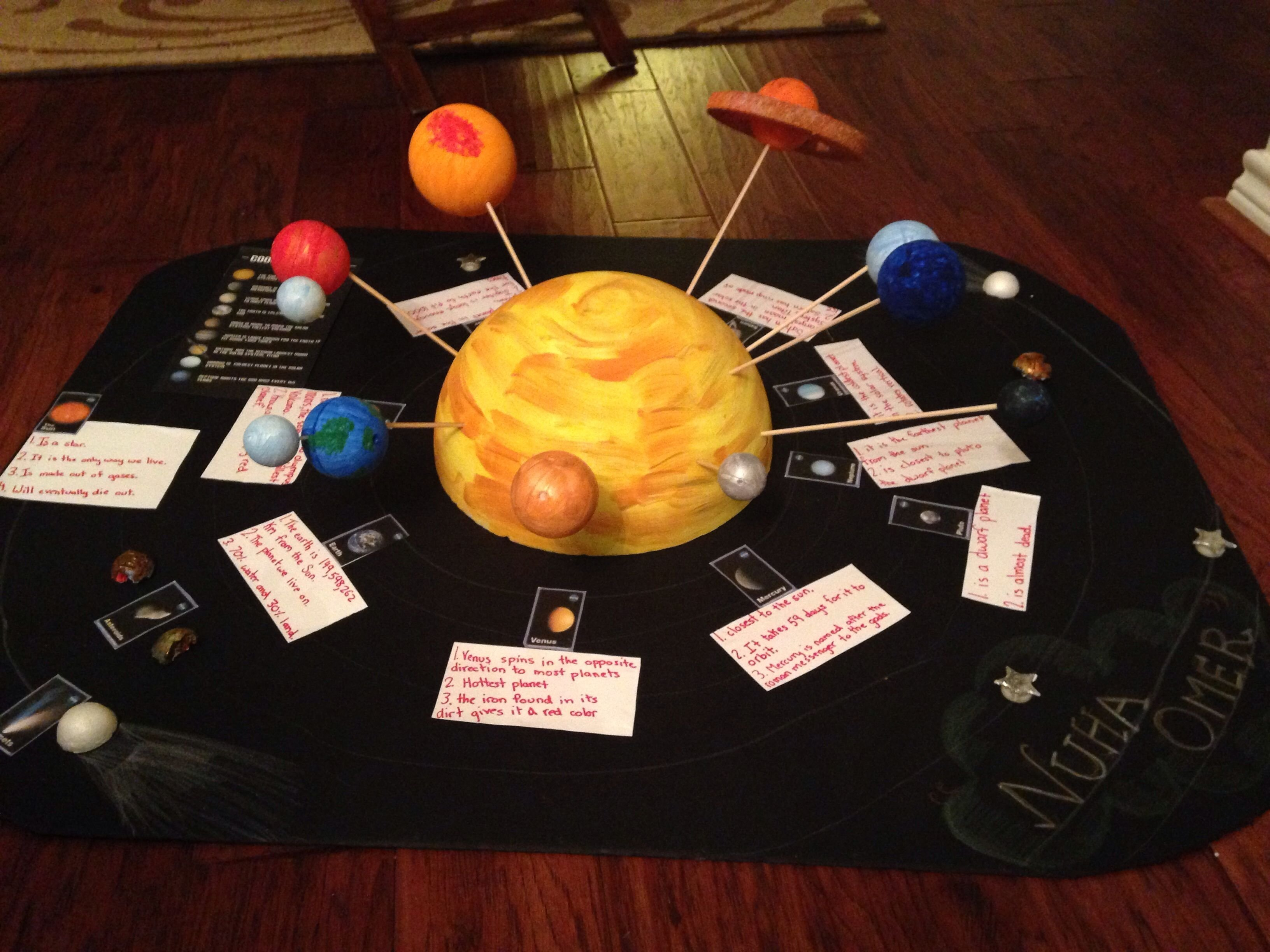 solar system project kids … | pinteres…