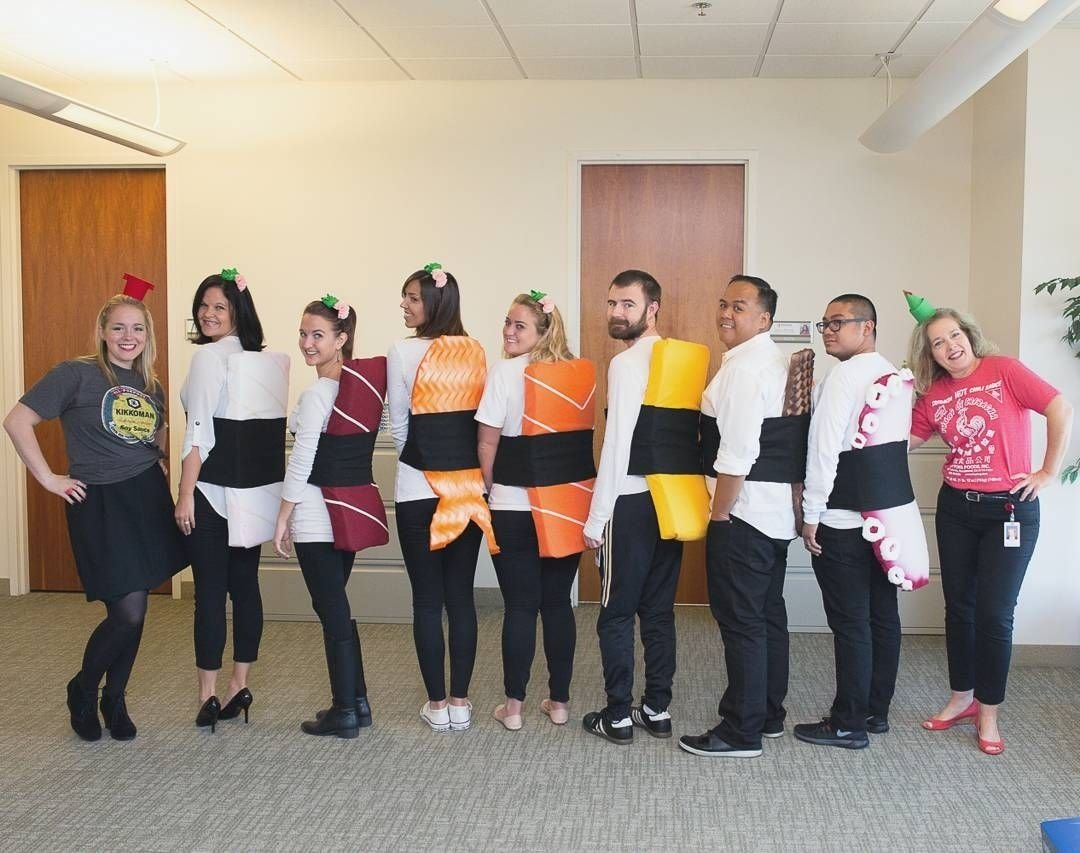 10 Lovable Creative Group Halloween Costume Ideas some of the forrent team members served up one great group 1 2020