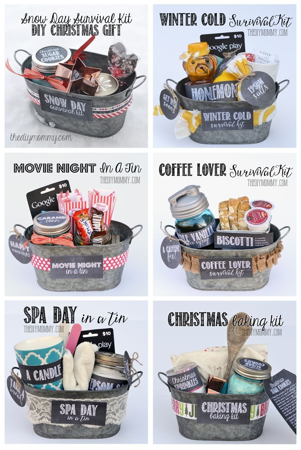 10 Lovable Christmas Gifts For Mom Ideas some wonderful gifts in a tin ideas all 6 gift basket ideas come 1 2020