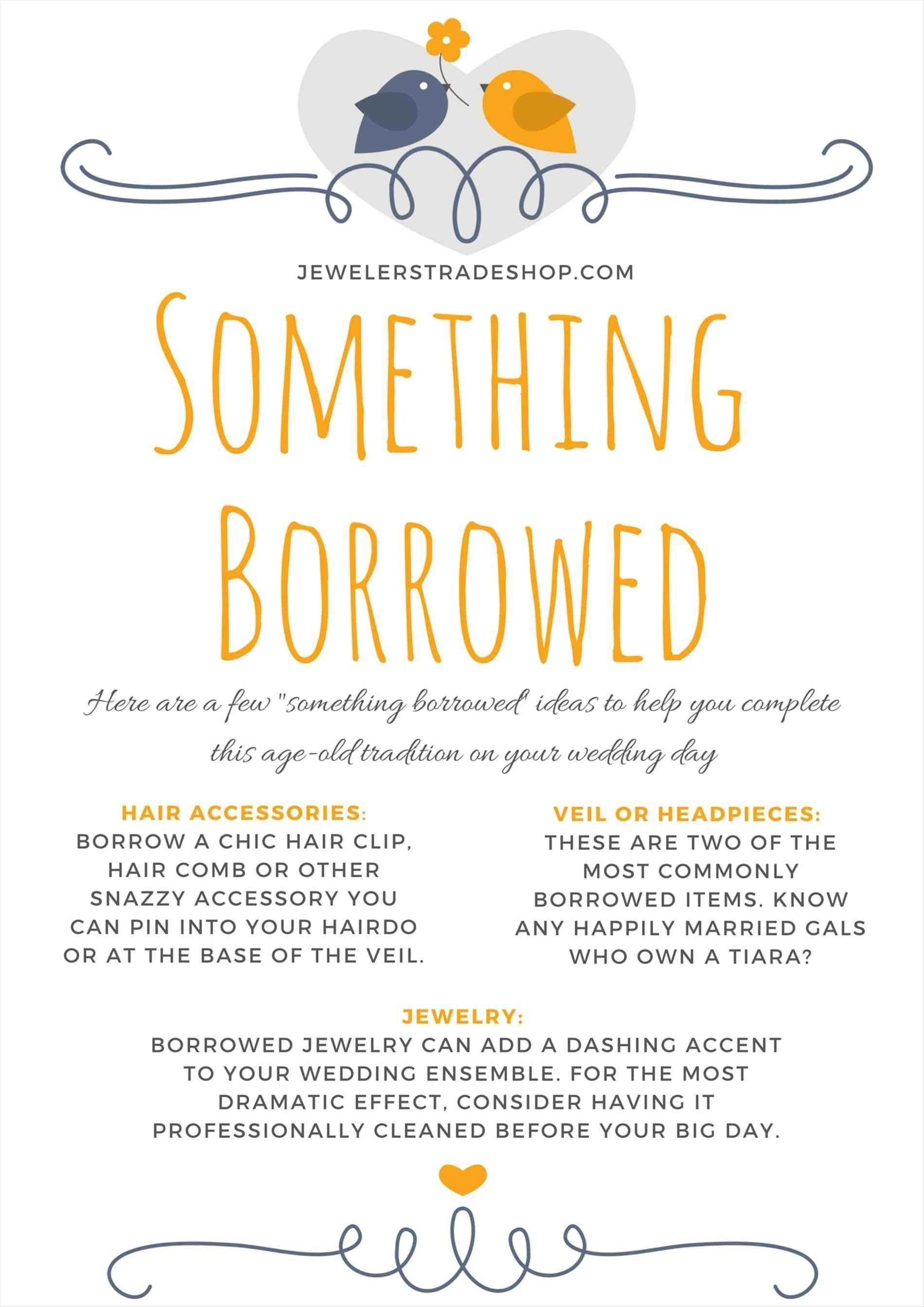 10 Fabulous Something Borrowed Ideas For Bride something borrowed for wedding weddings234 2020