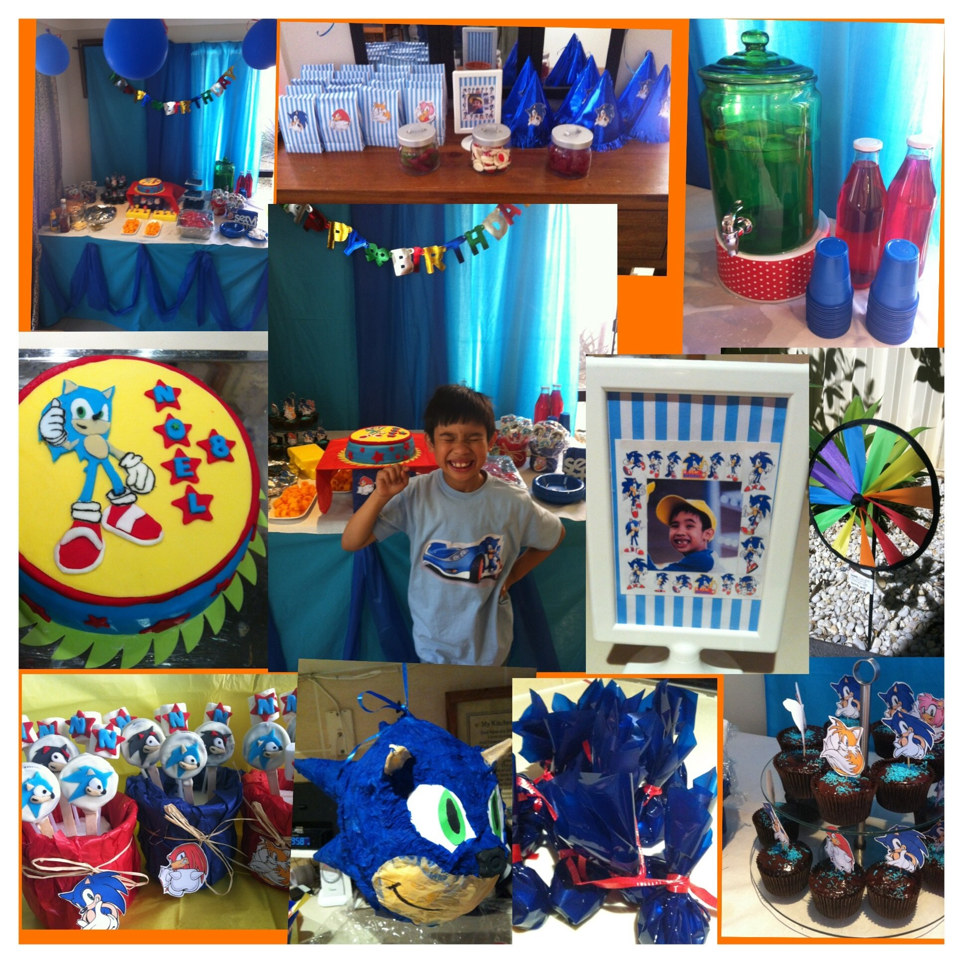 10 Great Sonic The Hedgehog Birthday Party Ideas sonic the hedgehog 8th birthday party sonic bday party for gavin 2021