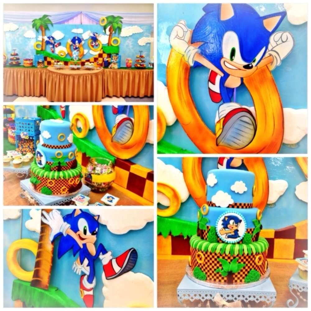 10 Nice Sonic The Hedgehog Party Ideas sonic the hedgehog birthday party ideas photo 1 of 24 catch my party 2021