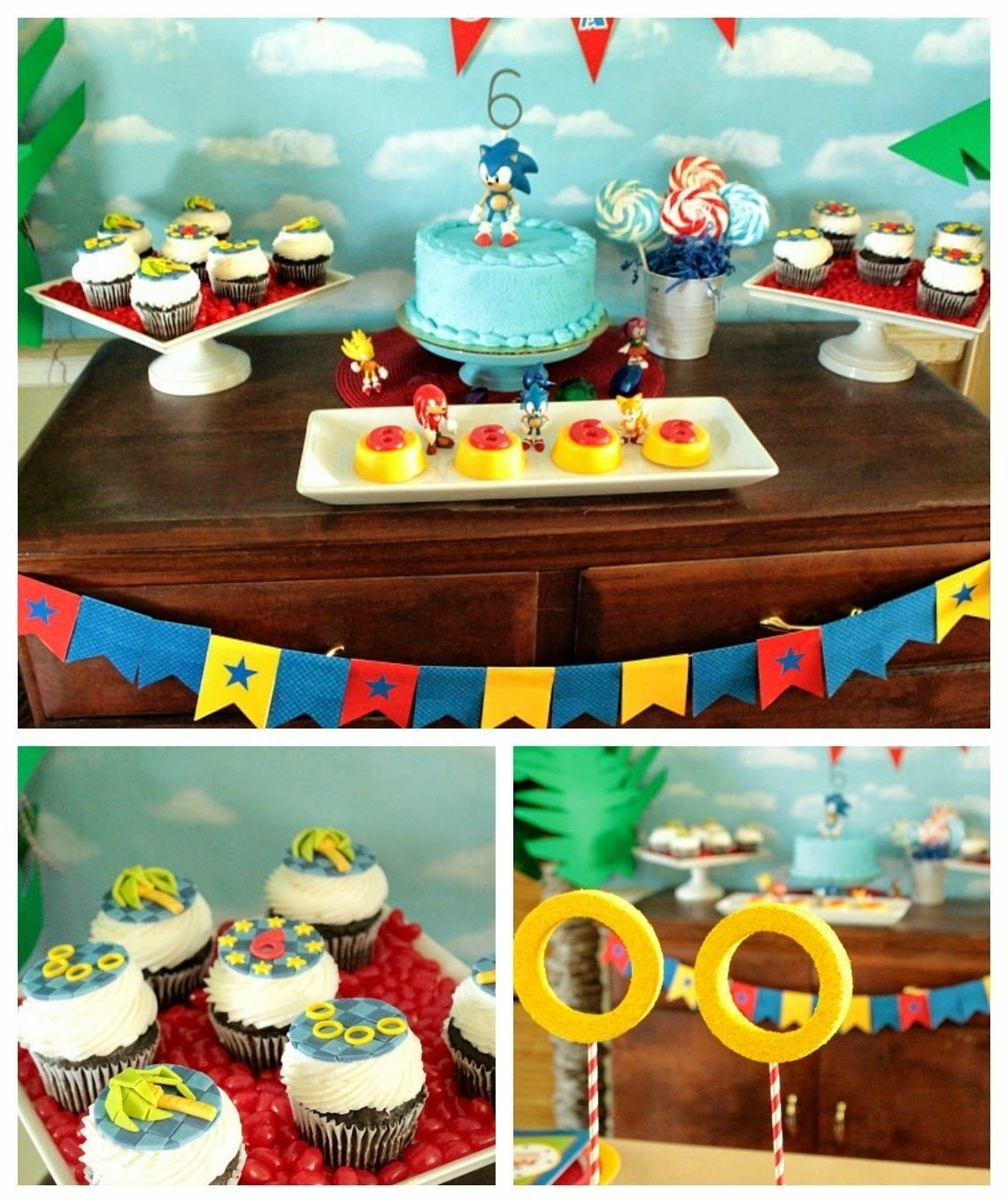 10 Nice Sonic The Hedgehog Party Ideas sonic the hedgehog partycupcake wishes birthday dreams 2021