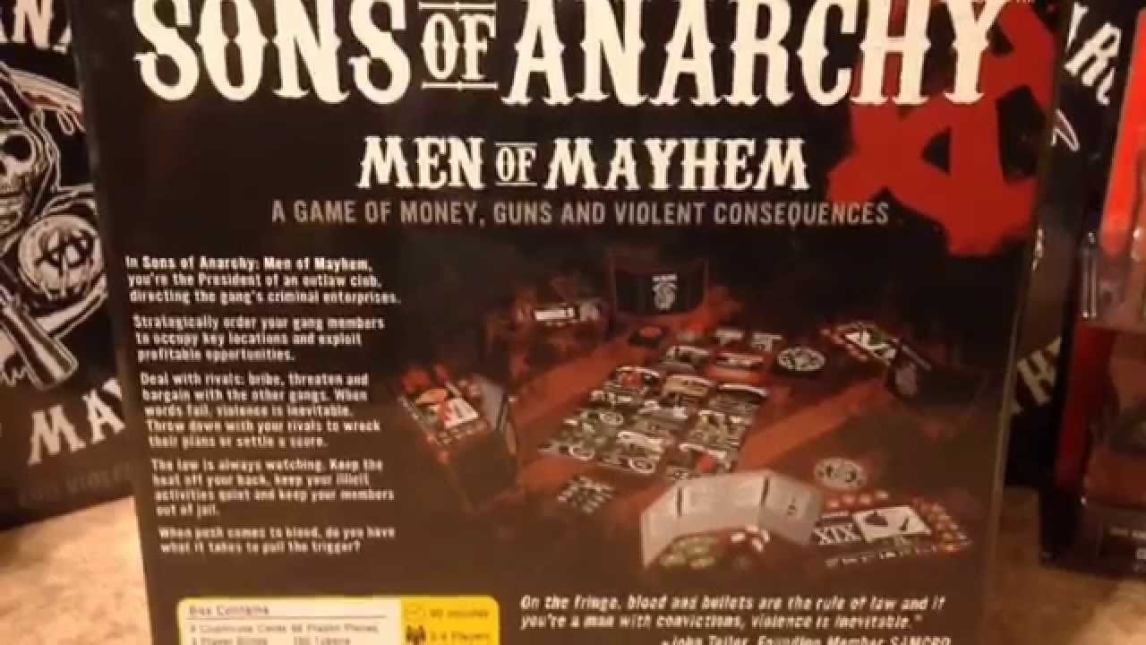 sons of anarchy gift ideas for the hardcore fan. - youtube