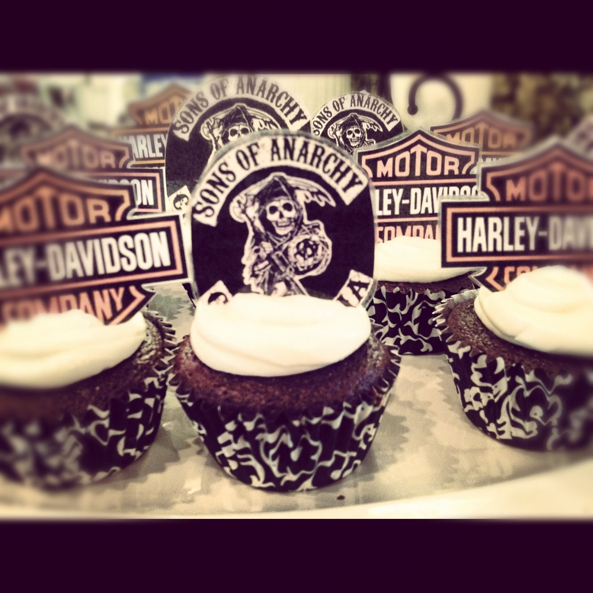 10 Stunning Sons Of Anarchy Party Ideas sons of anarchy themed irish car bomb cupcakes for tonights season 2021