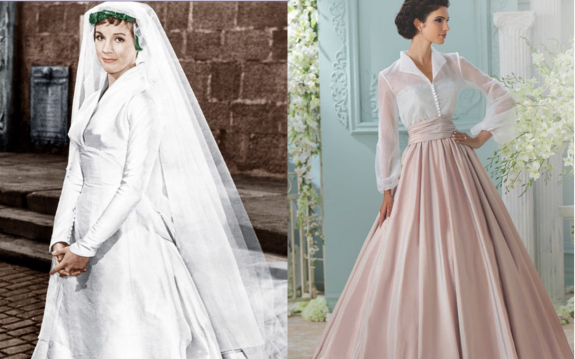 10 Most Recommended Sound Of Music Costume Ideas sound of music wedding dress wedding dress ideas 2021