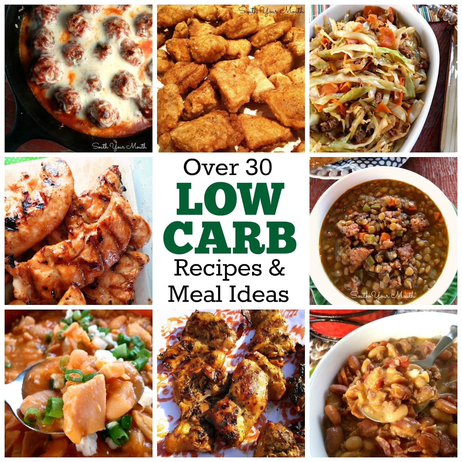10 Gorgeous High Protein Low Carb Meal Ideas south your mouth my low carb weight loss plan 2020