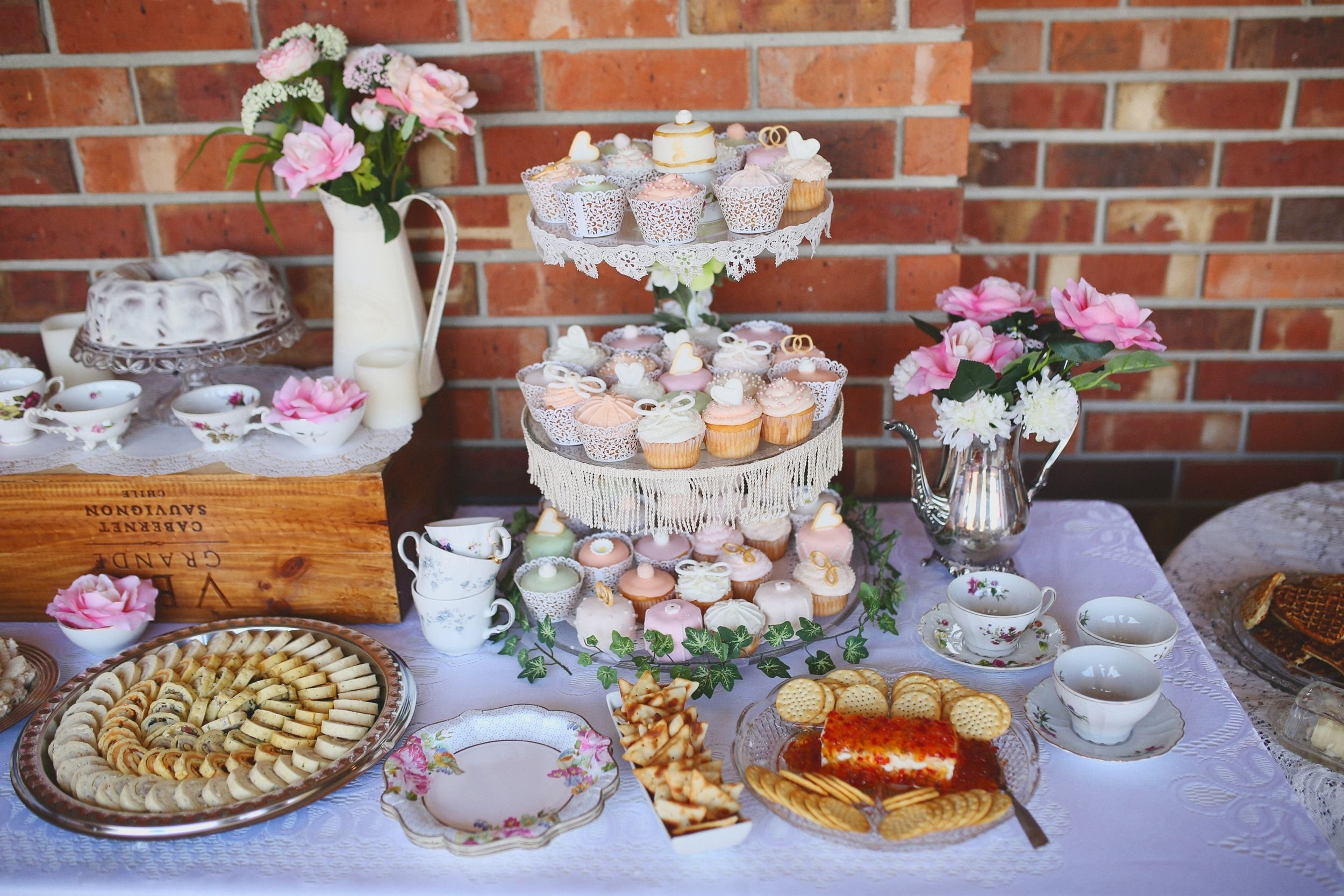 10 Attractive Shabby Chic Bridal Shower Ideas southern belle tea party themed bridal brunch shabby chic bridal 1 2020